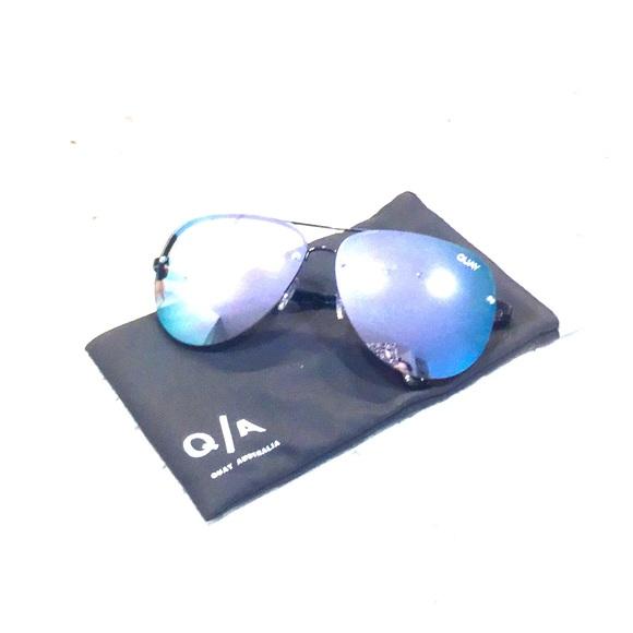 14d534c35bc Quay Australia Muse Black Purple Sunglasses. M 5a999ca05512fd9c13458e09